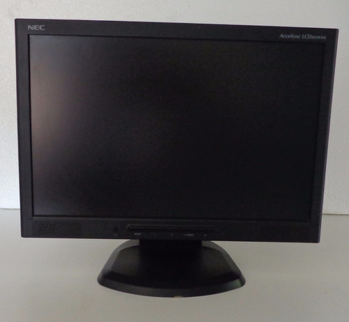 monitor nec 20.1 pol. para pc modelo: accusync lcd 203wxm
