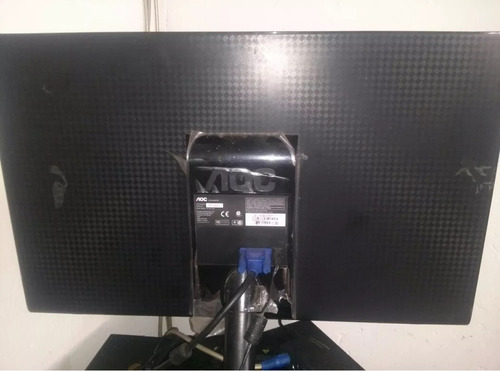 monitor pantalla 22  led aoc e2251swn 1080p hd ultra slim