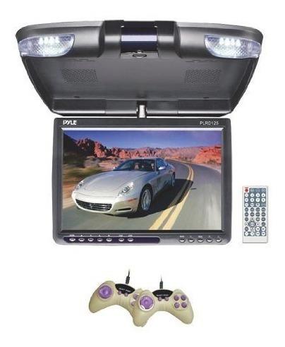 monitor pantalla con dvd de 12 pulg  para automovil pyle