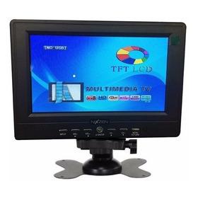 Monitor Pantalla Lcd 7 Tft Seguridad Video Camara Sd Auto