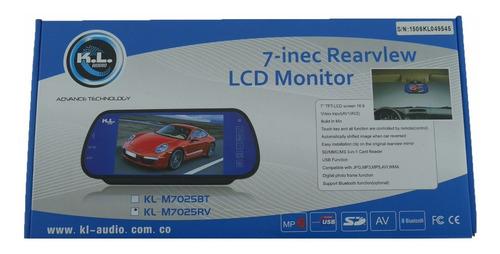 monitor pantalla para carro kl-m7025rv