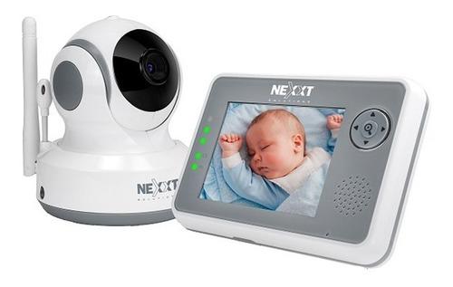 monitor para bebe audio y video con infrarrojo roomate nexxt