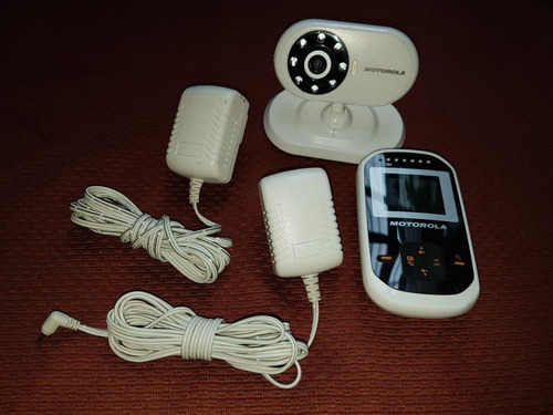 monitor para bebé, baby call, camara y receptor. motorola