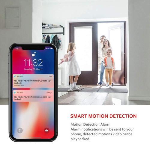 monitor  para bebe cámara de seguridad inalámbrica ip wifi