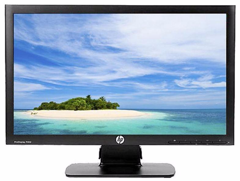 Monitor Para Computadora Marca Hp Modelo P202 De 20