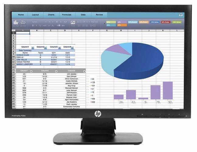 Monitor Para Computadora Marca Hp Modelo P202 De 20 Pulgadas ...