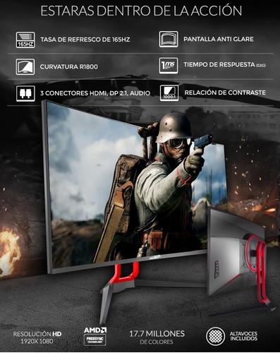 monitor pc gamer 165hz sentey 27 fullhd 1ms freesync gsync