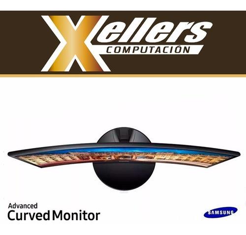 monitor pc led curvo 27 samsung cf390 full hd   hdmi xellers