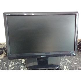 Monitor Philips 18 Polegadas 185vw ( Com Risco E Mancha)