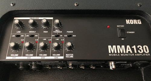 monitor portátil amplificado korg