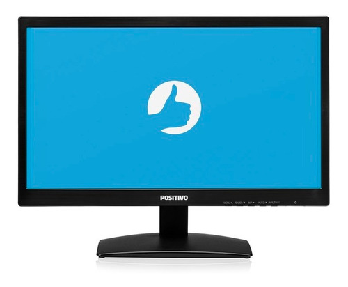 monitor positivo 20m37aa tela 19.5'' - preto