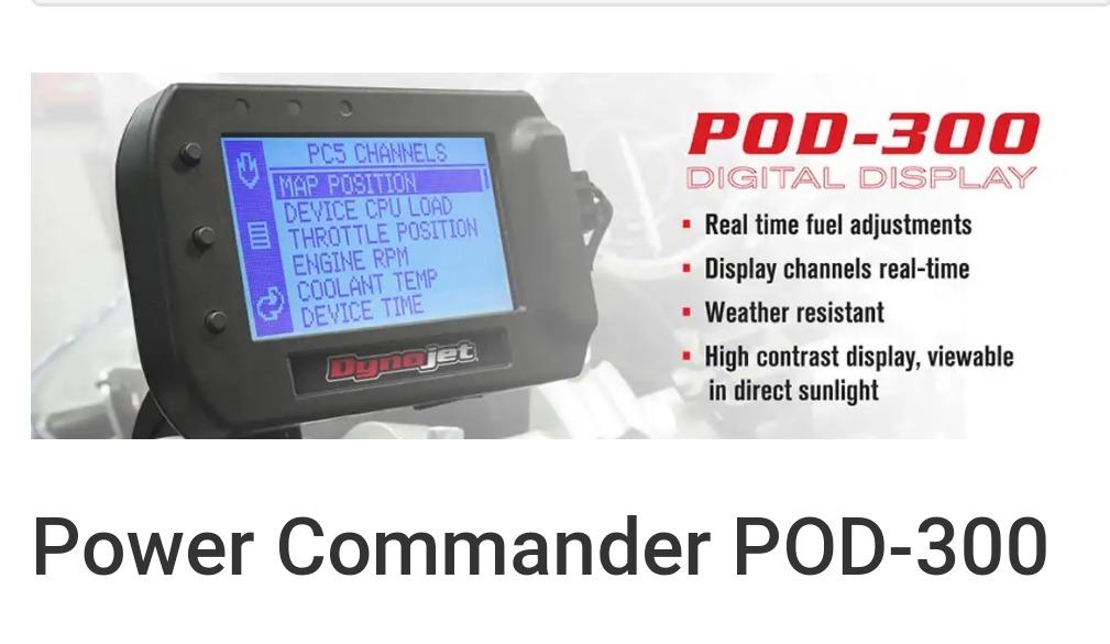 Monitor Power Commander Pod 300 Yamaha 450r Cdi Ecu Dynojet