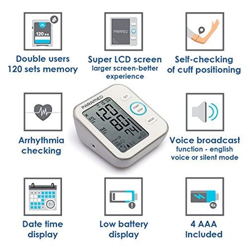 monitor presión arterial parametrizado aprobado por la fda