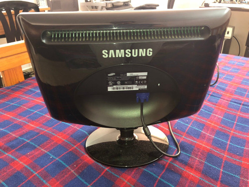 monitor samsung 17'' 732nw lcd wide screen impecable oficina