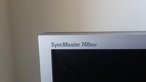 monitor samsung 17 pulgadas modelo 740nw
