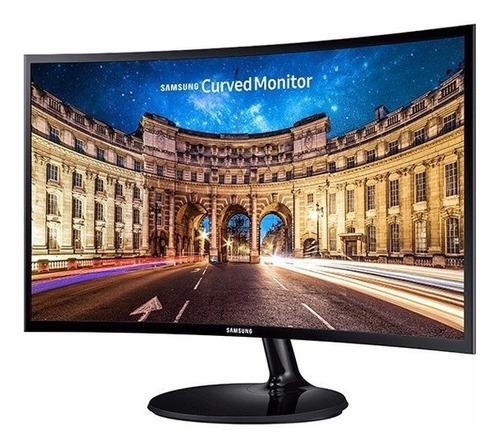 monitor samsung 24 curvo f390 full hd  freesync hdmi vga led