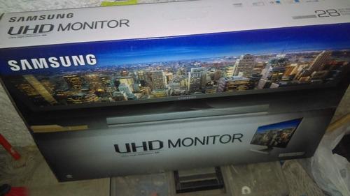 monitor samsung 28  led uhd