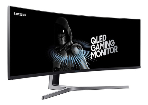 monitor samsung chg90 curvo 49  qled ultra wide 144hz 1ms