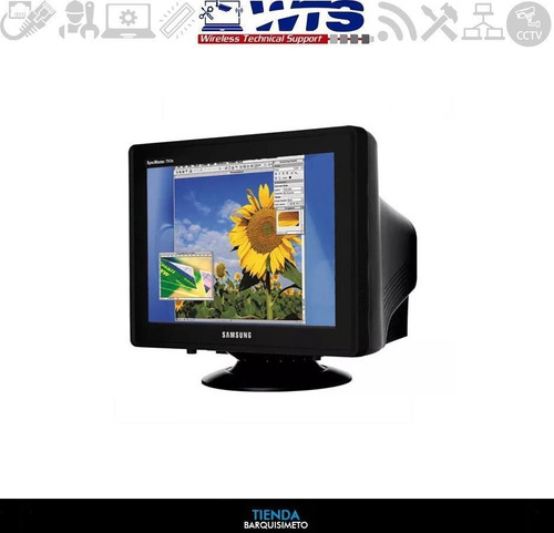 monitor samsung crt modelo 793s usado como nuevo