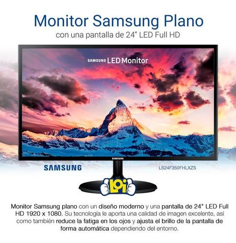 monitor samsung f350 24' fullhd super slim hdmi vga loi