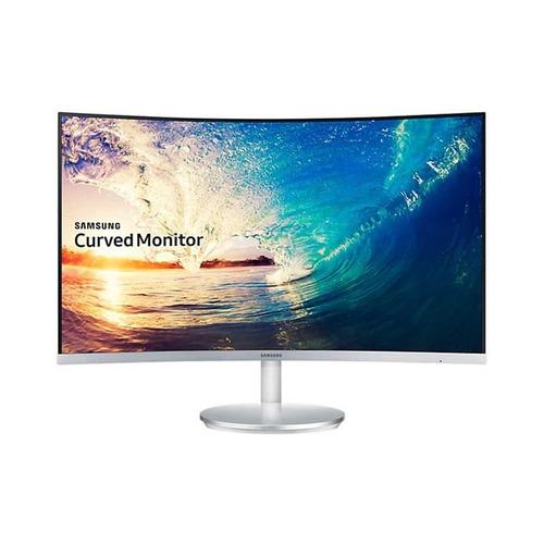 monitor samsung full hd 27  curvo c27f591 branco