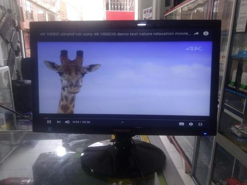 monitor samsung led, 19 pulgadas hd