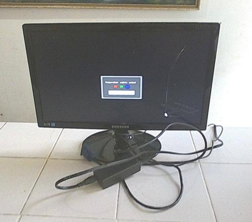 monitor samsung led 19pulg para repuesto o raparar