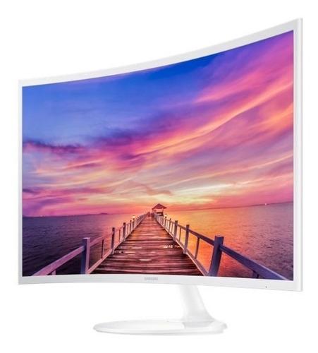 monitor samsung led 32 curvo lc32f391fw blanco iva incluido