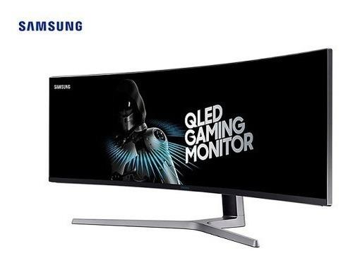 monitor samsung led 49  c49hg90dml gaming curvo