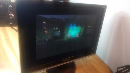 monitor samsung syncmaster  lcd 21.6  , usado
