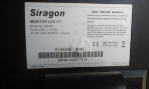 monitor siragon de 17