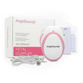 Monitor Sonar Doppler Fetal Angel Sounds + Gel E Bateria