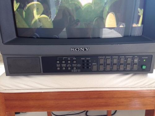 monitor sony pvm 1444pm 14 polegadas retrogames
