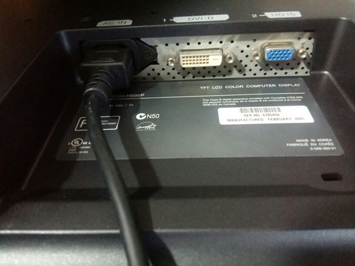 monitor sony sdm 19   lcd hs95p