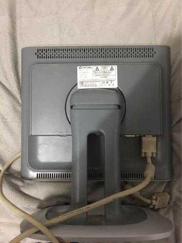 monitor tatung l50 15  lcd