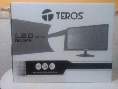 monitor teros  21.5  led, fhd 1920x1080 hdmi, parlantes