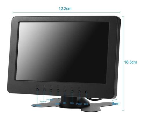monitor tft lcd s701 7 in 16:9 1024x600 con euroenchufe