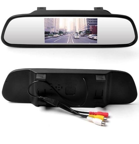 monitor tipo espejo de sobre poner con monitor de 4.5 pulgad