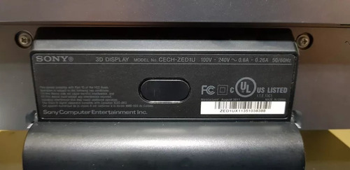 monitor tv sony 3d 1080p led 24 pulgadas