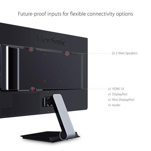 monitor viewsonic led vx2276-smhd, 22 pulgadas, diseño si