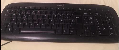 monitor y teclado