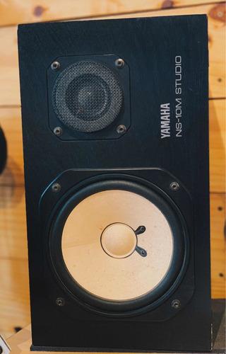 monitor yamaha ns10m studio (par) + potencia ra100 alesis