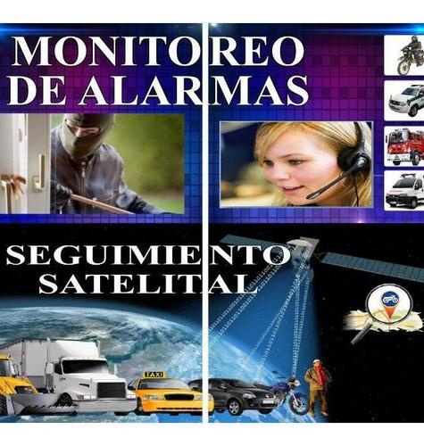 monitoreo de alarma - gps seguimiento satelital.camaras