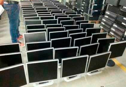 monitores 17 pulgadas usados clase a  varias marcas garantia