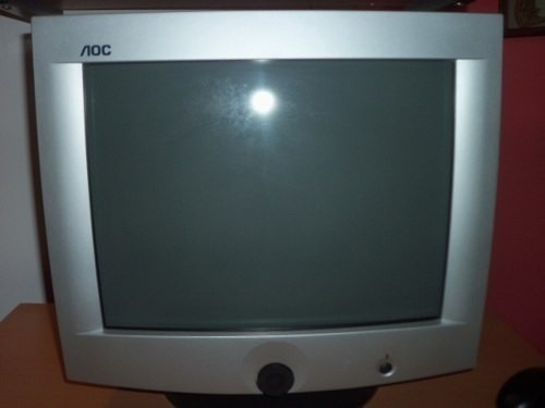monitores convencionales crt clase a con garantia