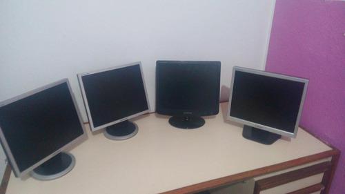 monitores  de 17 pulgadas clase a  somos tecnologic