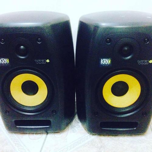 monitores de áudio krk vxt6