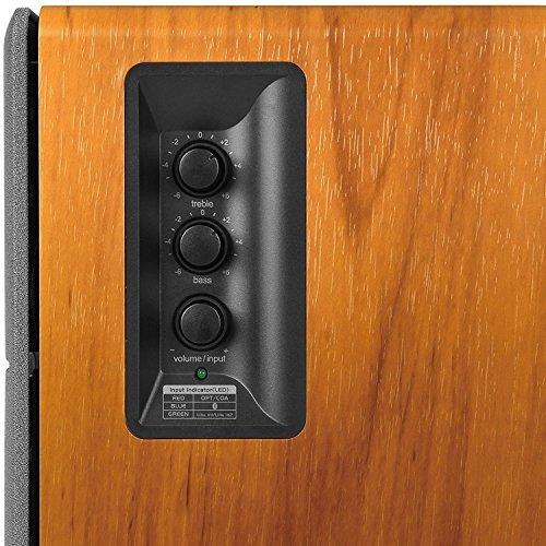 monitores de estudio inalámbricos de madera