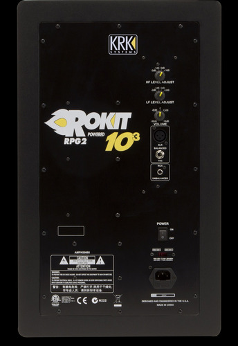 monitores de estudio krk rokit 5 3g (par) inmediato