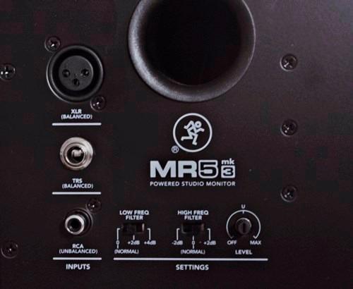 monitores de estudio mackie mr5 mk3 (el par) / en belgrano